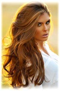 карамель волосы
