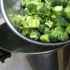 сколько варить брокколи