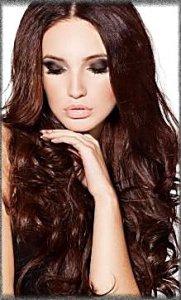 цвет волос шоколад фото