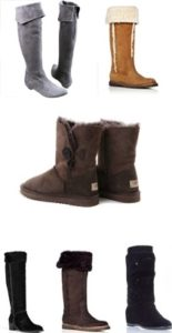 женские сапоги зимние без каблука