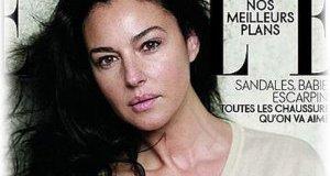 Моника Белуччи без макияжа