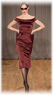коричневое коктейльное платье