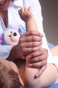 Массаж новорожденного