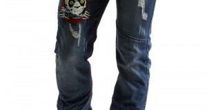 Заплатка на джинсах