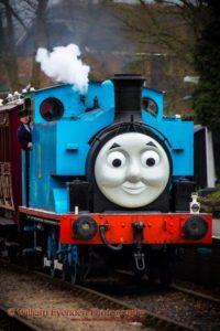 Железная дорога и паровозик Томас