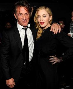 Мадонна и ее первый муж Шон Пенн
