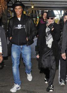 Мадонна и ее жених Брахим Заибат