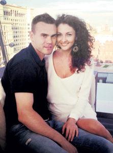 Игорь Акинфеев и его жена