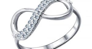 Универсальное и стильное серебряное кольцо
