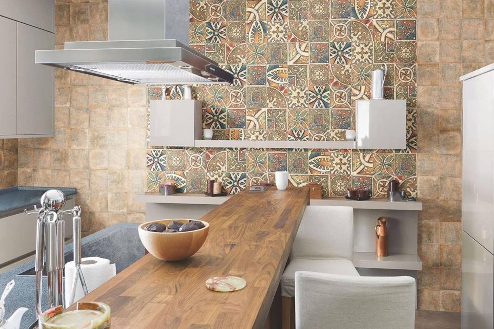 Испанская плитка - лучший вариант отделки стен