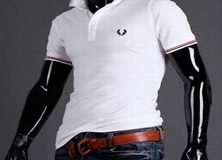 Белые мужские футболки