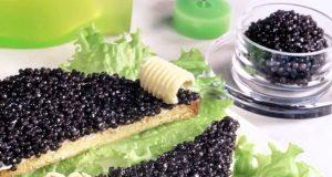 Блюда с черной икрой к праздникам