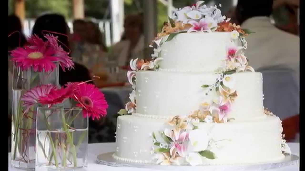 Свадебный торт: фантазия без границ