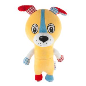 Воспитание ребенка с мягкой игрушкой Собачка