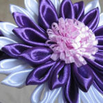 2 вида цветов из лент своими руками
