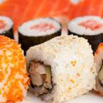 Как есть суши правильно