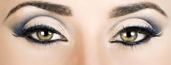 макияж серо зеленых глаз