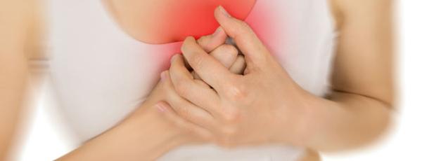 болит грудь причина