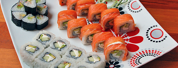 суши роллы в домашних условиях