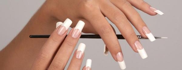 как делать ногти гелем