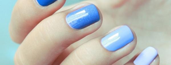 как делать омбре на ногтях