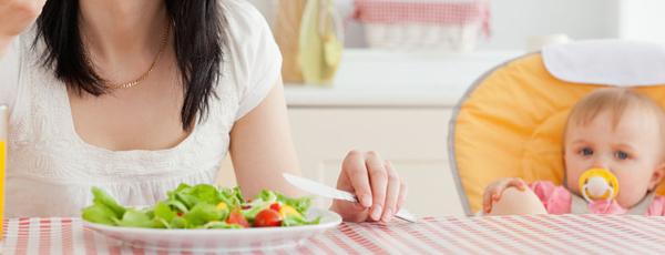 рацион питания кормящей матери новорожденного