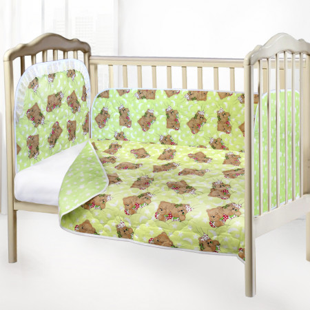 Самые красивые комплекты в кроватку для новорожденных